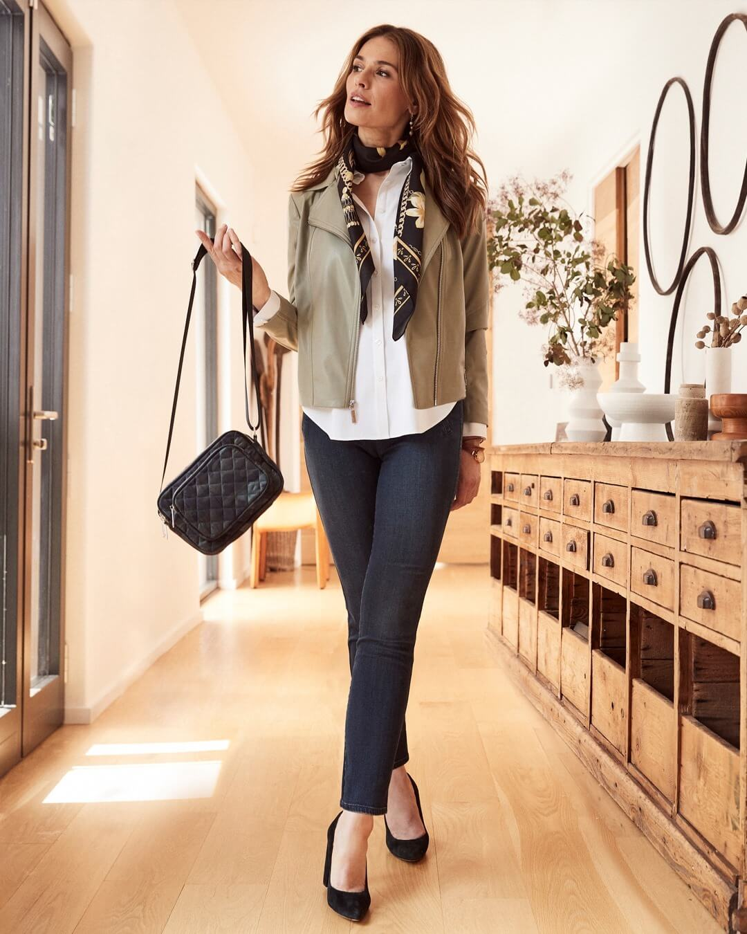 Fall outfit from Chicos at Uptown Gig Harbor
