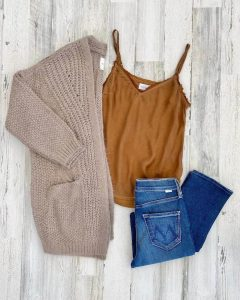 Denim outfit at Bloom Boutique