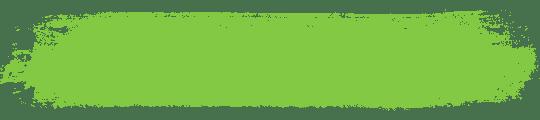 green brush stroke