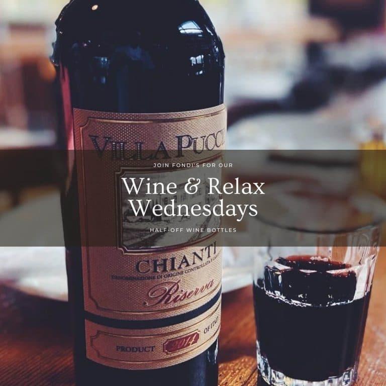 Fondi Pizzeria Wine and Relax Wednesdays